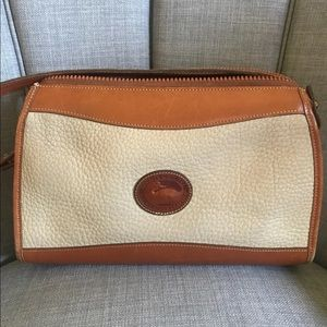 Dooney and Burke Vintage Crossbody - Beige